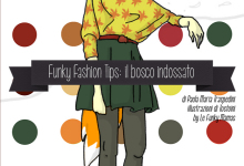 Funky Fashion Tips illustrazione di Tostoini per le Funky Mamas woodland creatures illustrations