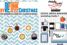 Due workshop e un handmade market dove trovare tostoini e fare cose interessanti di qui a Natale: MAdebyMi, Refunk, Youthless