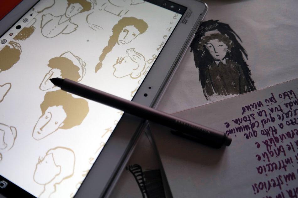 ZenPad 10 + Z Stylus tostoini