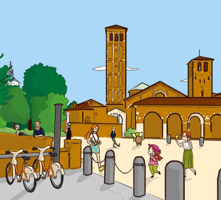 illustration-milan-santambrogio-picture-book-valentina-va-a-milano-casamica-tostoini