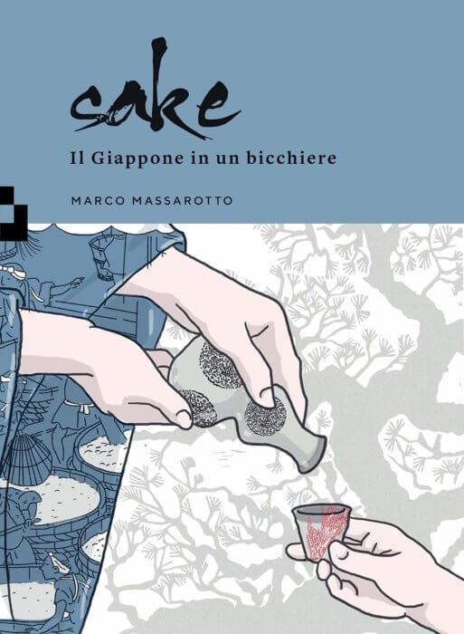 sake il giappone in un bicchiere marco massarotto quintoquarto illustrazione copertina tostoini