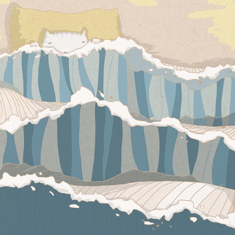 Acqua | Inverno illustrazione di tostoini