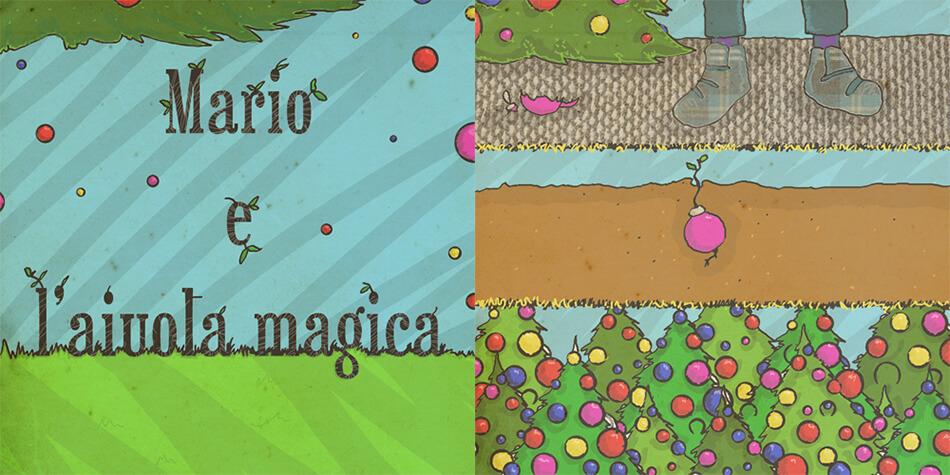 Piccolini Barilla - Mario e l'aiuola magica