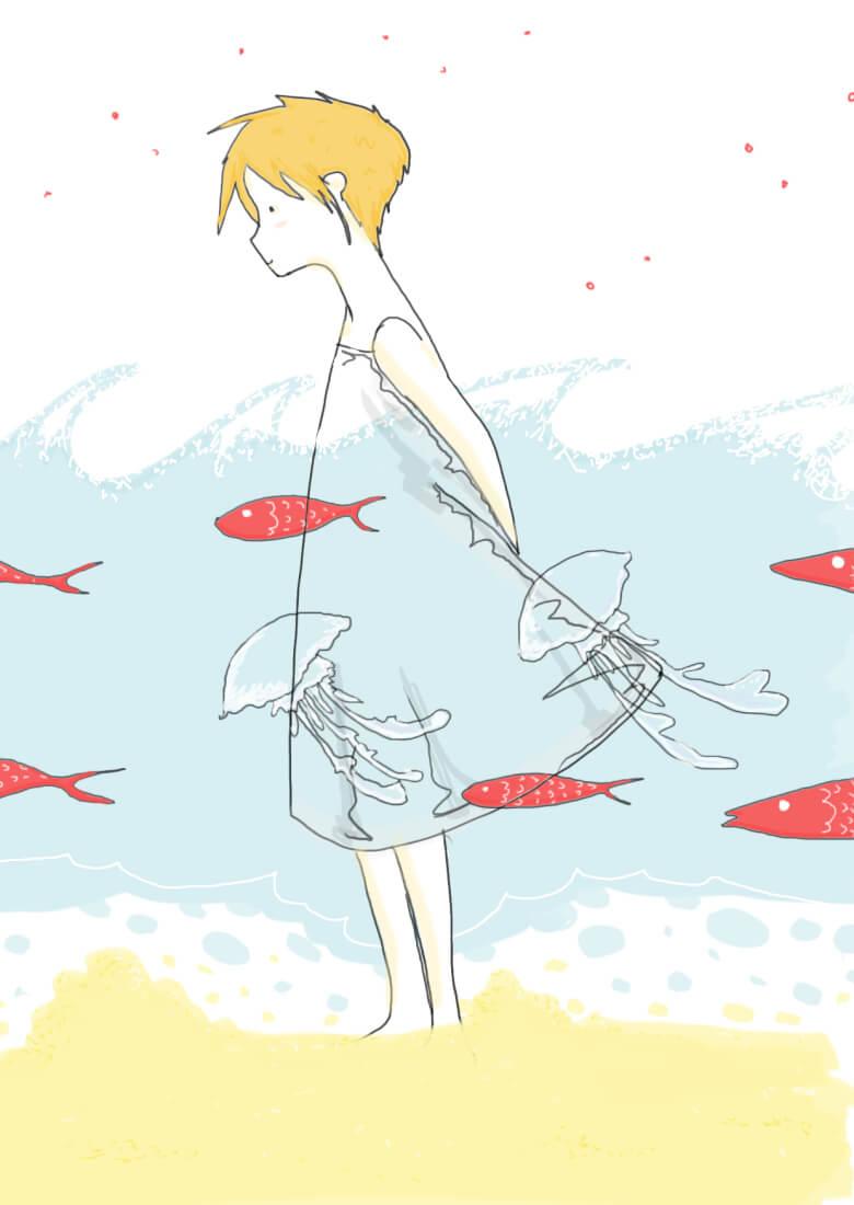 Primo Bagno illustrazione di tostoini