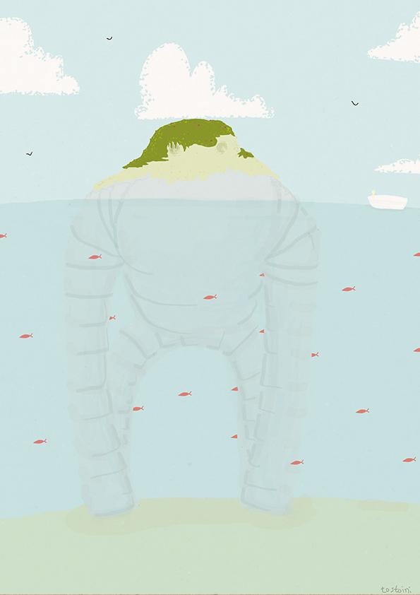 Robottoni illustrazione di tostoini