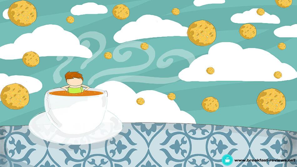 The Breakfast Review illustrazione di tostoini