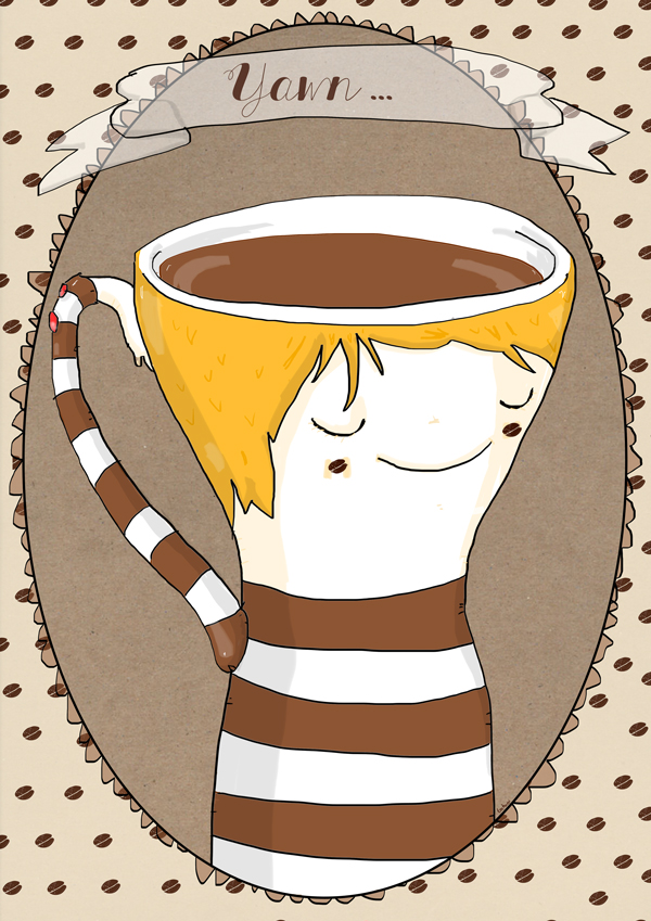Coffee illustrazione di tostoini