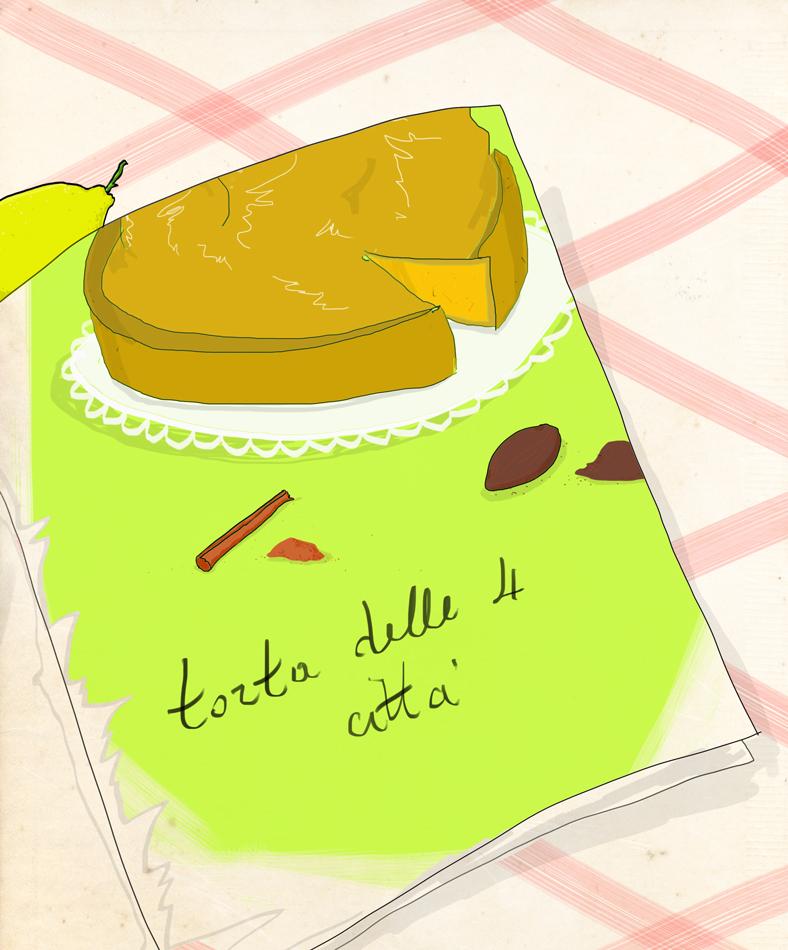 cucina regionale | a qualcuno piace cracco | illustrazione di tostoini