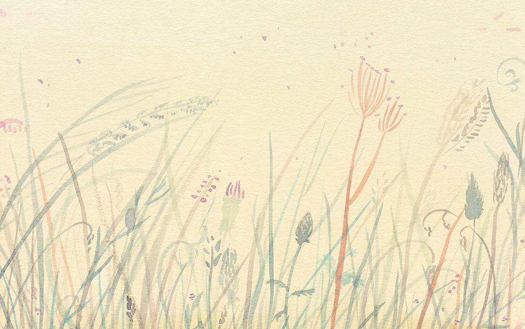 Pausa | pomeriggio estivo illustrazione di tostoini