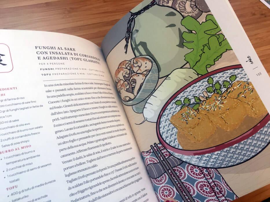 sake il giappone in un bicchiere marco massarotto quintoquarto illustrazione ricette tostoini