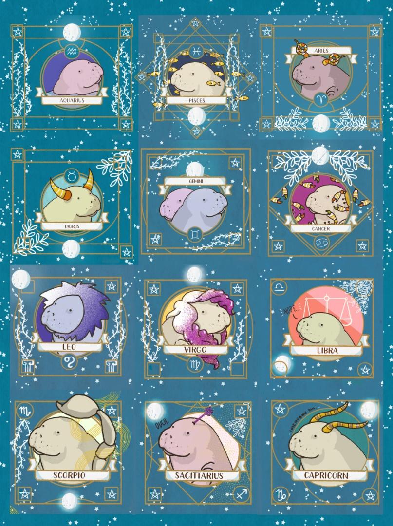manatee-horoscope-all-signs-tostoini