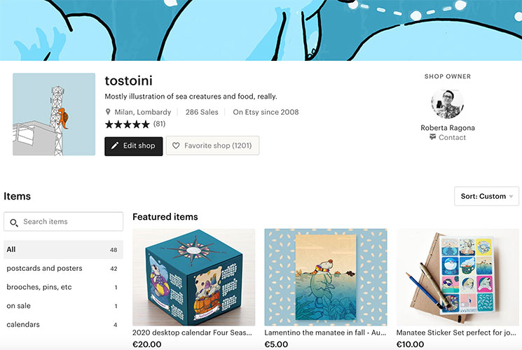 Tostoini's etsy shop | mostly illustrations | http://www.tostoini.etsy.com