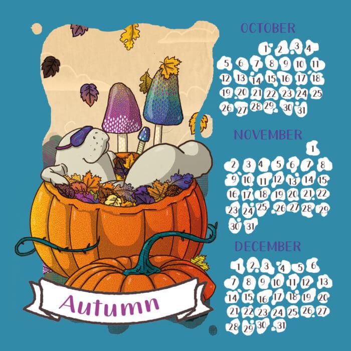 calendario 2020 lamentino tostoini autunno