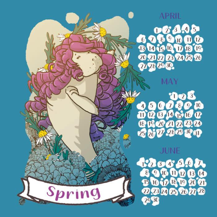 calendario 2020 lamentino tostoini primavera