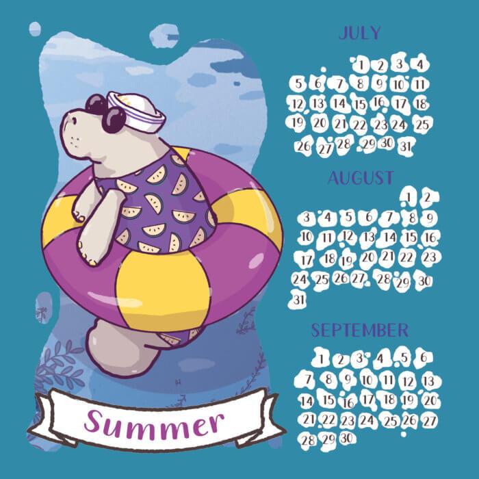 calendario 2020 lamentino tostoini estate