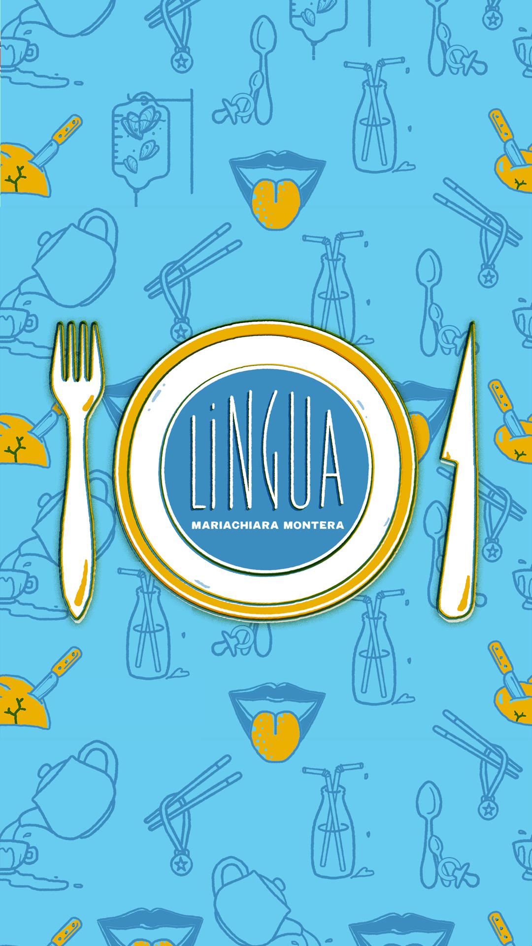 "Storytel original series ""Lingua"" by Mariachiara Montera instagram stories images"