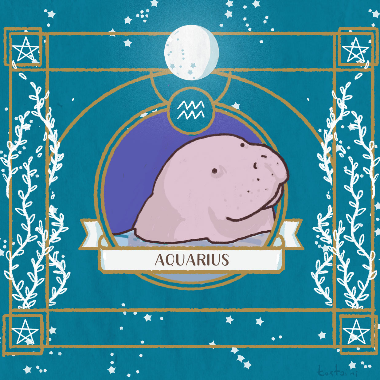 aquarius-manatee
